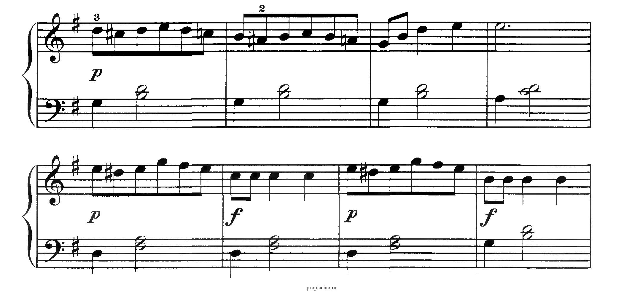 Смена картинки в музыке