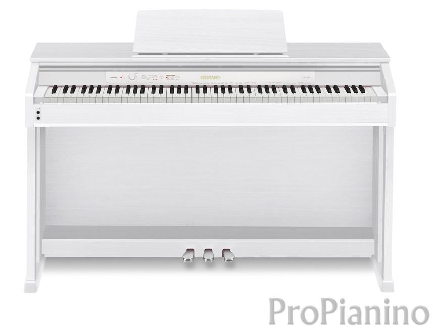 Пианино белое Casio Сelviano АР-450