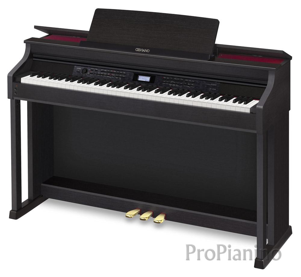 Черный рояль Casio Сelviano АР-650