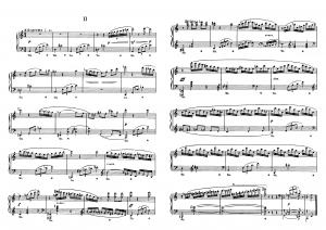 """Прелюдия №2 из цикла """"24 прелюдии"""" Д. Шостакович: ноты"""