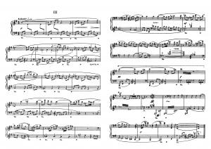 """Прелюдия №3 из цикла """"24 прелюдии"""" Д. Шостакович: ноты"""