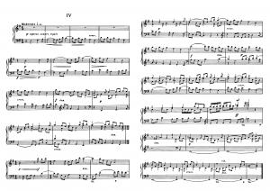 """Прелюдия №4 из цикла """"24 прелюдии"""" Д. Шостакович: ноты"""