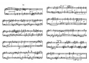 """Прелюдия №6 из цикла """"24 прелюдии"""" Д. Шостакович: ноты"""