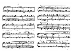 """Прелюдия №9 из цикла """"24 прелюдии"""" Д. Шостакович: ноты"""