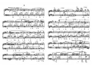 """Прелюдия №10 из цикла """"24 прелюдии"""" Д. Шостакович: ноты"""