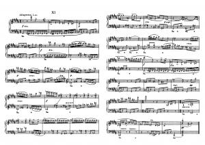 """Прелюдия №11 из цикла """"24 прелюдии"""" Д. Шостакович: ноты"""