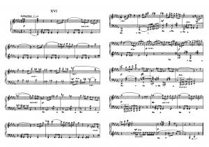 """Прелюдия №16 из цикла """"24 прелюдии"""" Д. Шостакович: ноты"""