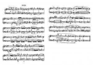 """Прелюдия №18 из цикла """"24 прелюдии"""" Д. Шостакович: ноты"""