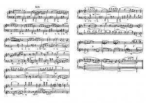 """Прелюдия №19 из цикла """"24 прелюдии"""" Д. Шостакович: ноты"""