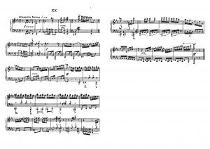 """Прелюдия №20 из цикла """"24 прелюдии"""" Д. Шостакович: ноты"""