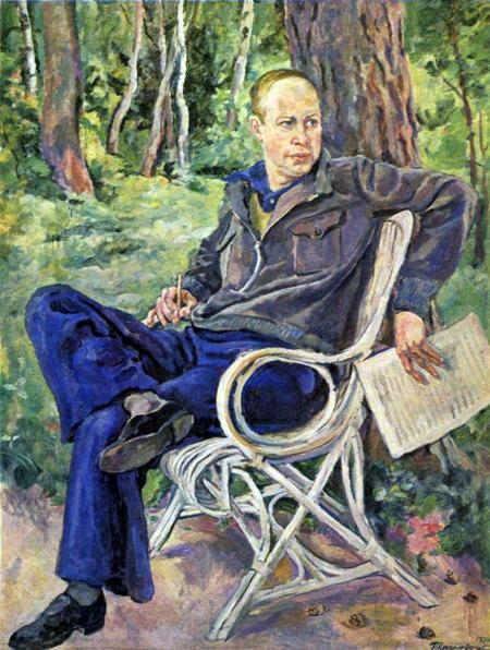 Портрет композитора Прокофьева С.С.