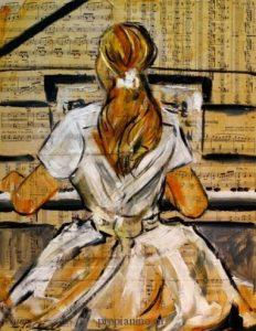 Пианино: история развития