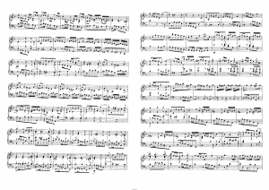 Токката Ре-минор (Toccata d-moll BWV 913) И.С. Бах: ноты