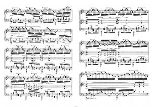 Аве Мария Ф. Шуберта в переложении Ф. Листа: ноты