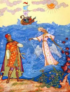Сказка царе салтане