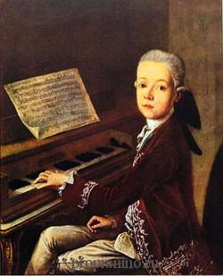 Музыка Моцарта так понятна детям потому, что он сам писал будучи ребенком