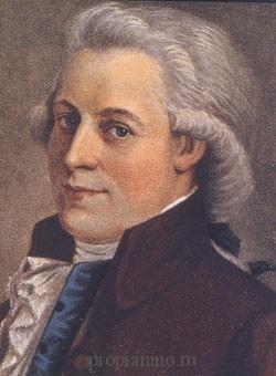 Моцарт творил, путешествуя по миру, его нельзя причислить к одной стране