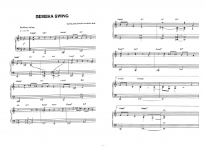 """Bemsha swing"" Thelonious Monk: ноты"