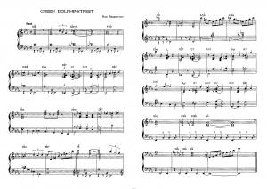 """Green dolphinstreet"" Нед Вашингтон: ноты"