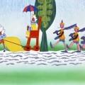 Ноты песни «Песня охраны» из мультфильма «Бременские музыканты»