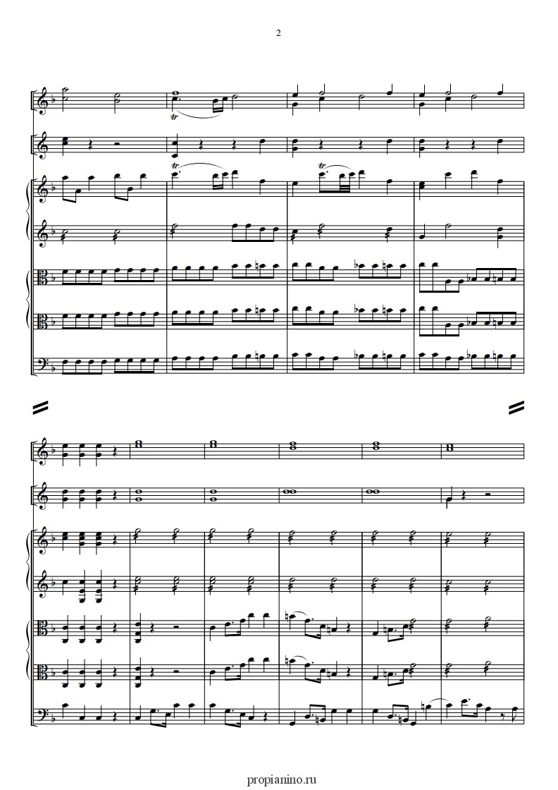 Популярные мелодии моцарта скачать бесплатно