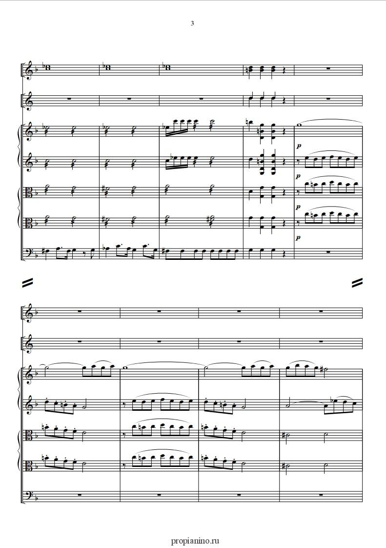 скачать бесплатно ноты для фортепиано моцарт музыка ангелов