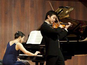 Пианист и скрипач