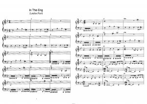 """Песня """"In the end"""" группы Linkin Park: ноты"""