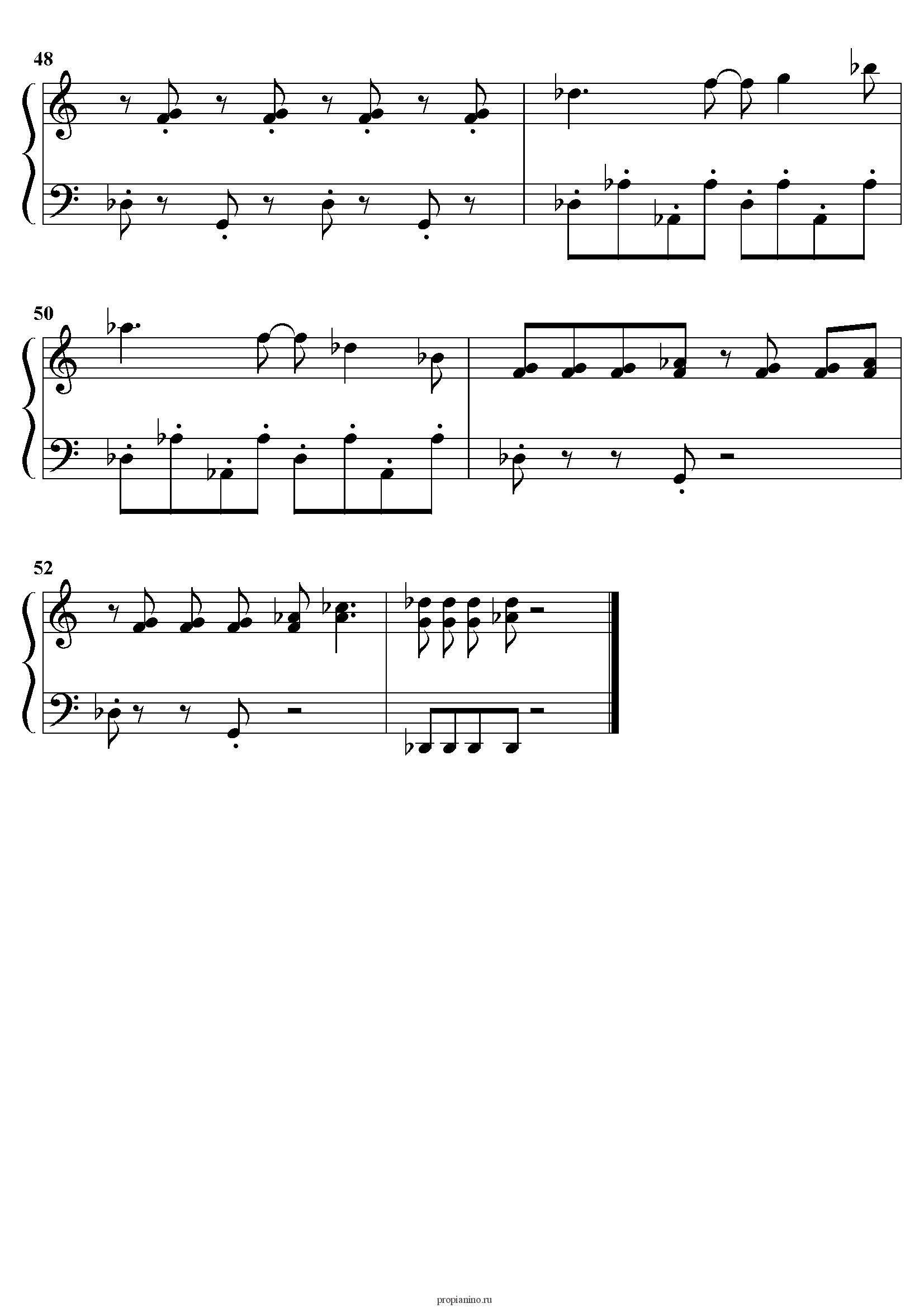 Интересные Ноты для Фортепиано скачать