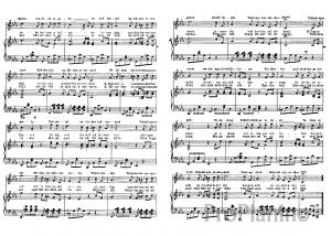 """Песня """"Выхожу один я на дорогу"""" Лермонтов: ноты"""