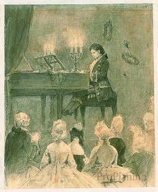 Людвиг ван Бетховен - великий пианист и импровизатор своего времени