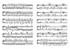 Соната №1 Л. Бетховен: ноты