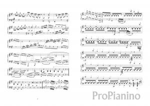 Ноты Сонаты №2 опус 2 Л. Бетховена_02