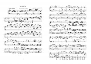 Ноты Сонаты №3 Op.2 Л. Бетховена_01