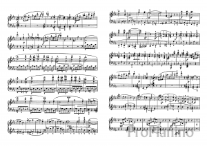 Ноты Сонаты №5 опус 10 Л. Бетховена_02