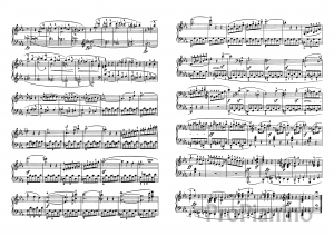 Ноты Сонаты №5 опус 10 Л. Бетховена_03