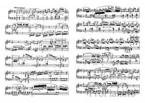 Ноты Сонаты №5 опус 10 Л. Бетховена_04