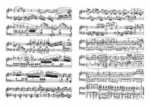 Ноты Сонаты №5 опус 10 Л. Бетховена_05