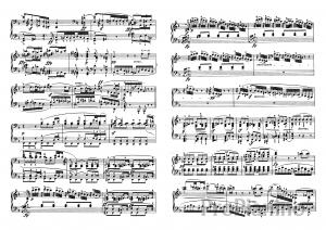 Ноты Сонаты №7 опус 10 Л. Бетховена_06