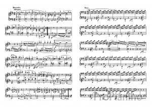 Ноты Сонаты №7 опус 10 Л. Бетховена_08