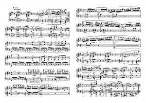 Ноты Сонаты №7 опус 10 Л. Бетховена_09
