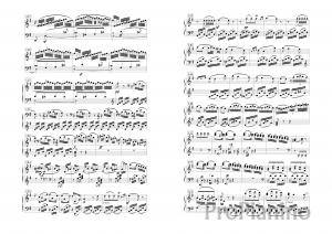Соната №10 опус 14 Л. Бетховен: ноты