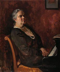 Портрет пианистки Татьяны Николаевой