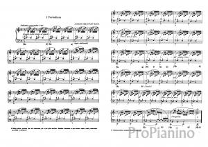 Прелюдия №1 (До-мажор) BWV 846 И. Бах: ноты