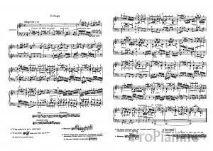 Фуга №2 (До-минор), BWV 847 И. Бах: ноты