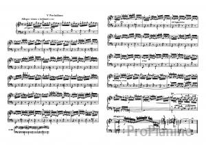 Прелюдия №5 (Ре-мажор) BWV 850 И.С.