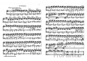 Прелюдия №6 (Ре-минор) BWV 851 И.С. Бах: ноты