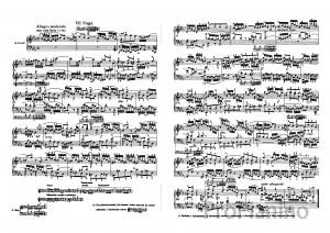 Фуга №7 (Ми бемоль-мажор) BWV 852 И.С. Бах: ноты