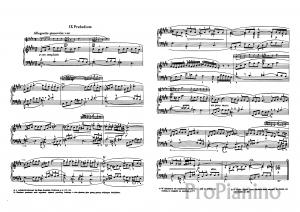 Прелюдия №9 (Ми-мажор)  BWV 854 И.С. Бах: ноты