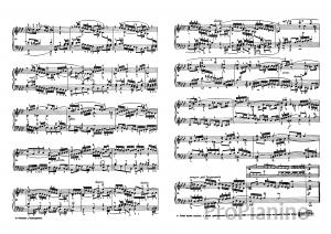 Фуга №12 (Фа-минор) BWV 857 И.С. Бах: ноты